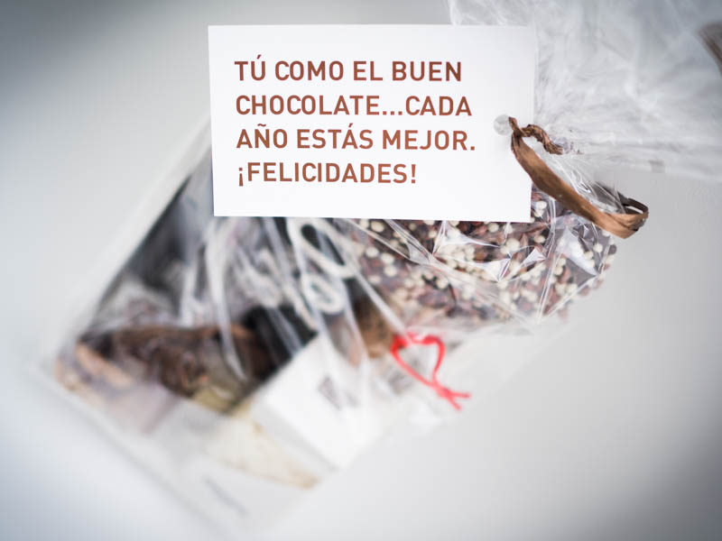Regalo chocolate